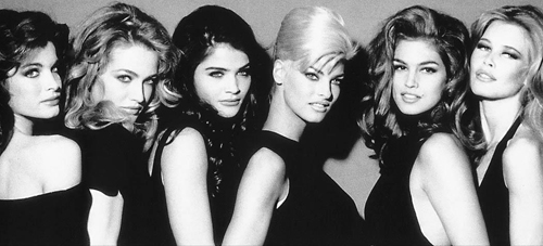 supermodels 1990s 2 Ive Got Serious Hair & Make Up Envy