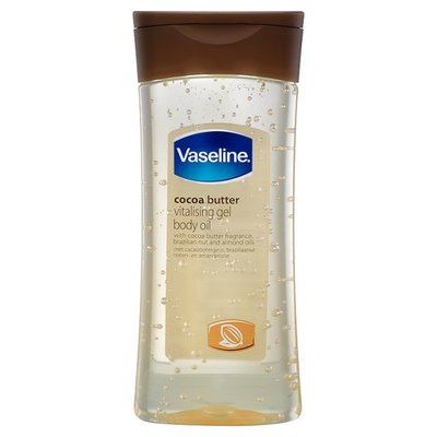vaseline cocoa butter vitalising gel body oil Product of the Month | Vaseline Cocoa Radiant Vitalising Body Gel Oil