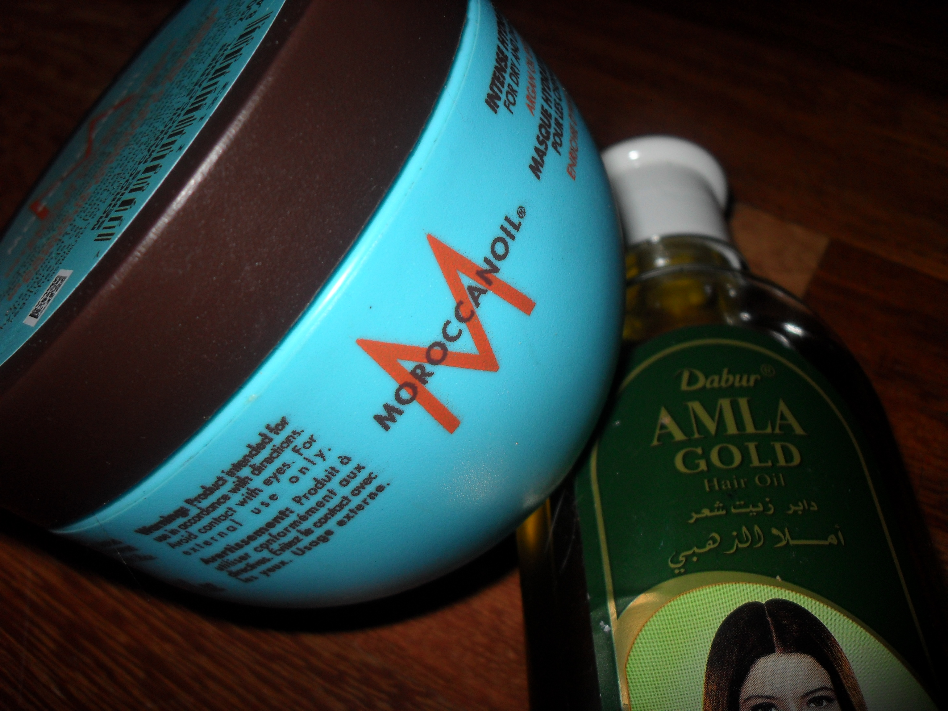 MoroccanOil Intense Hydrating Mask + Amla Oil = A Happy Head of Locks!